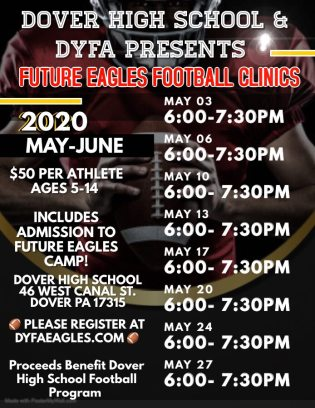 2020 Future Eaagles Camp Flier